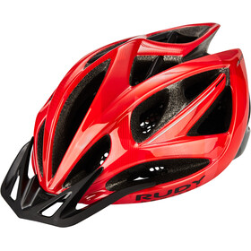 Rudy Project Airstorm MTB Casco, red/black camo shiny